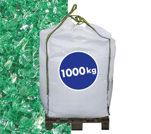 Glassplitt Grün 20-50 1000 kg Big Bag