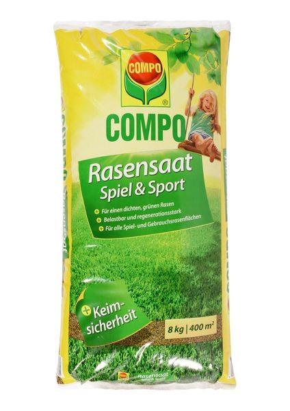 COMPO Rasensaat Spiel & Sport 8 kg