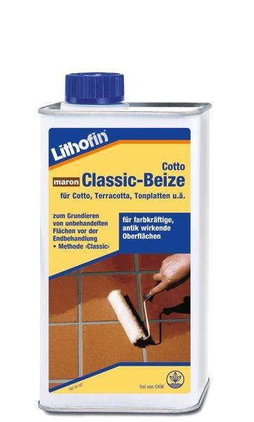 Lithofin® Cotto Classic-Beize 1 l - Maron