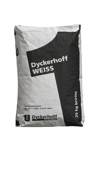 DYCKERHOFF Weiss Face - Weisszement CEM I 42,5 R (dw) 25 kg