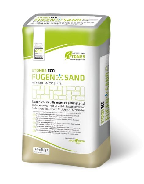 STONES ECO FUGENSAND 1-20 mm beige 25 kg