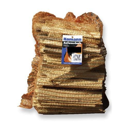 Anfeuerholz 5,0 dm³ reine Holzmasse