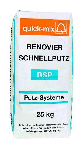 quick-mix RSP Renovier-Schnellputz 25 kg