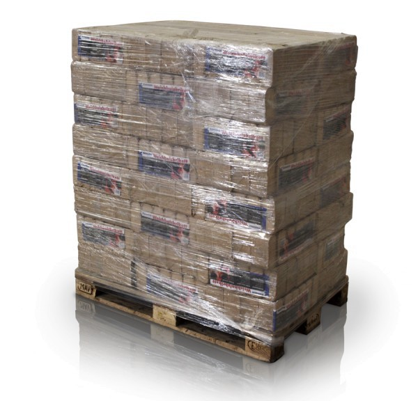 Weichholzbriketts 96 x 10kg volle Palette
