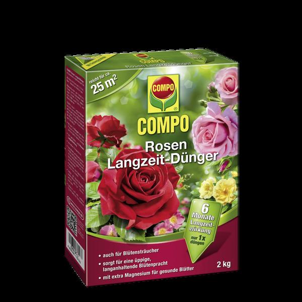 COMPO Rosen Langzeit-Dünger 2 kg