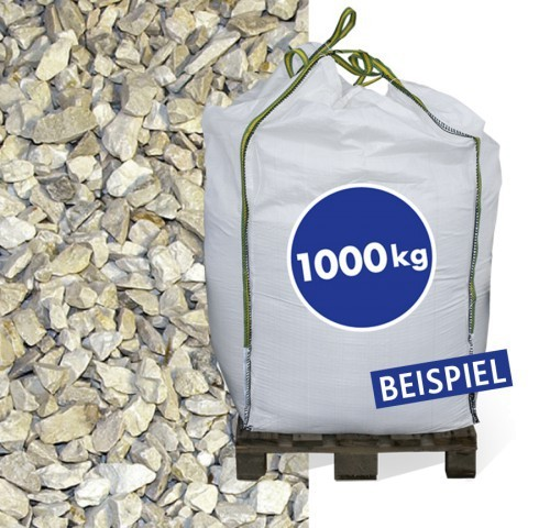 1000 kg Kalksteinbruch Yellow Sun 40-70mm Big Bag