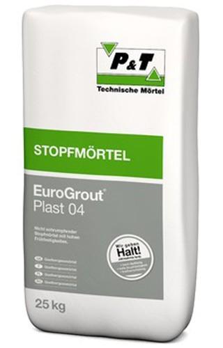 EuroGrout Plast 04 Unterstopfmoertel 0-4 mm 25 kg